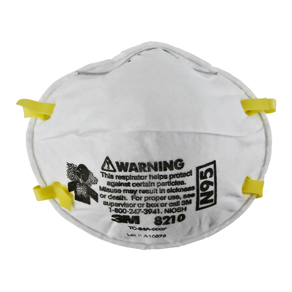 N95 Packaging - 8210 Ea 3m™ Respirator Rapid case 160 Particulate